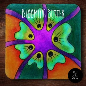 Tanglepattern Blooming Butter