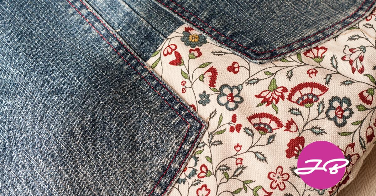 Tasche Aus Einer Alten Jeanshose Manufabde